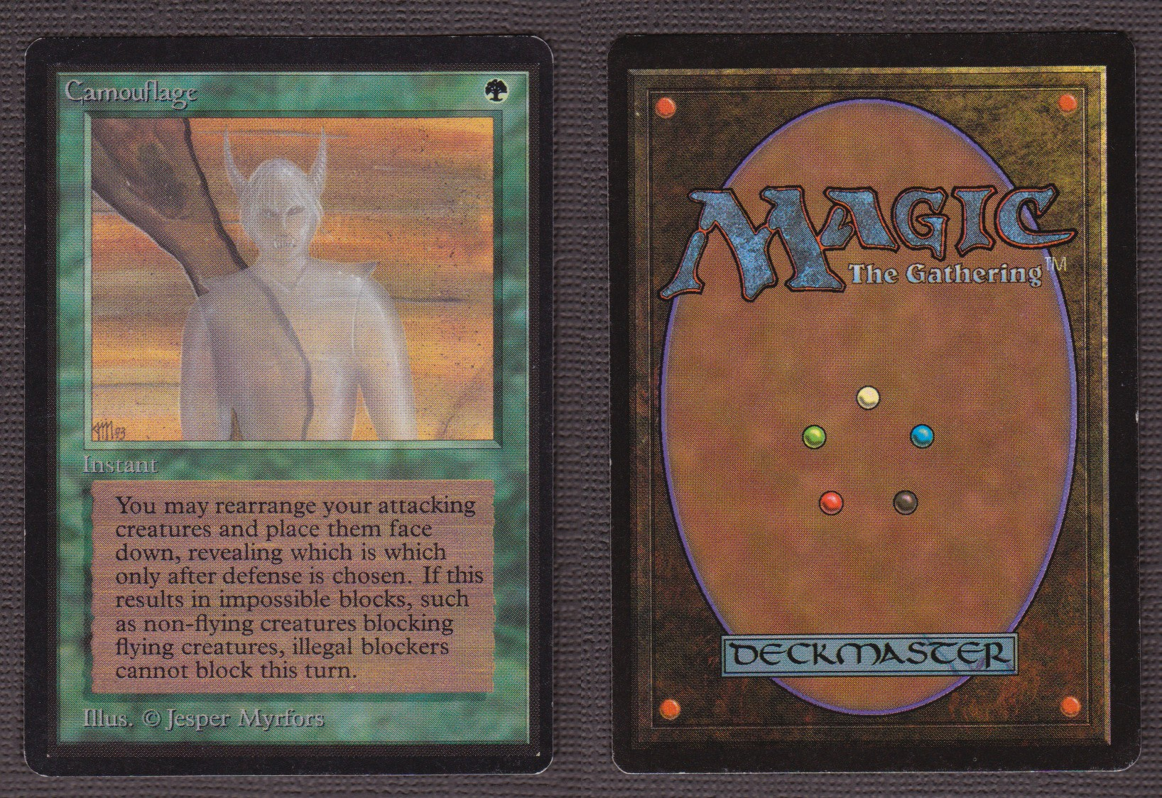 Camouflage MTG Magic The Gathering BETA Edition Old School